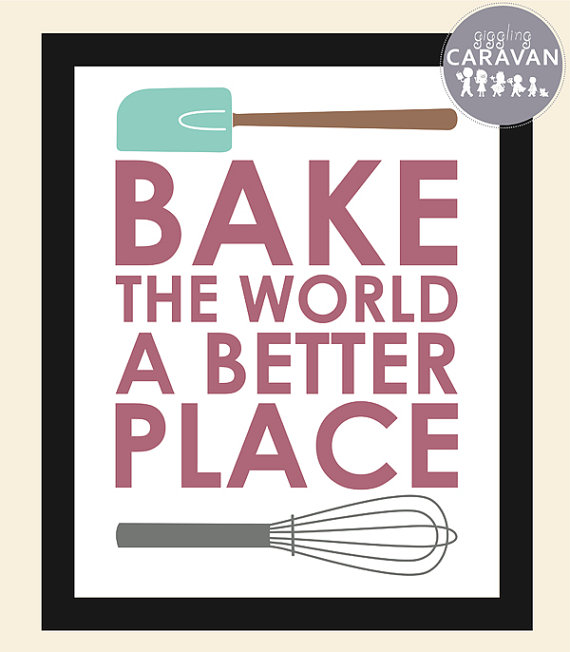 Bake the World a Better Place www.gigglingcaravan.com