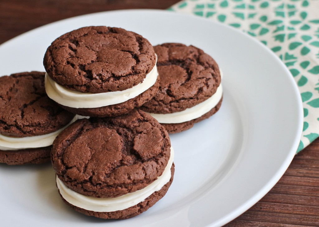 Simple Whoopie Pie | Bake the World a Better Place www.gigglingcaravan.com