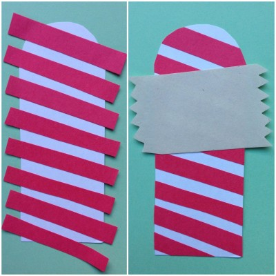 DIY North Pole Holiday Bookmark | www.GigglingCaravan.com