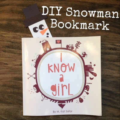 DIY Holiday Bookmark |www.GigglingCaravan.com
