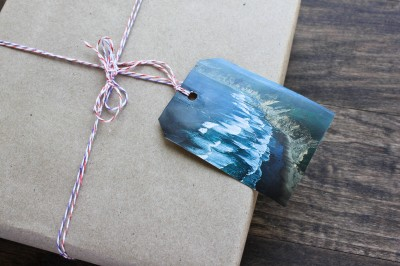 DIY ADVENTUROUS GIFT TAGS | See the World... | www.gigglingcaravan.com